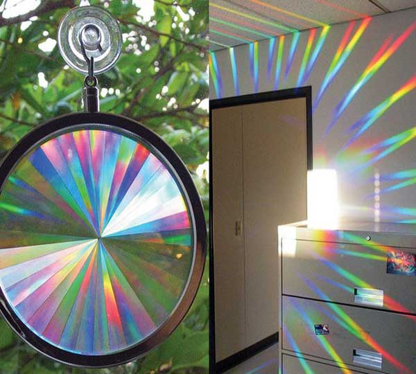Axicon Rainbow Window Suncatcher