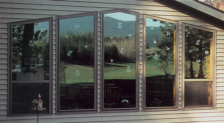 Whispering Windows Chickadee Decals ...