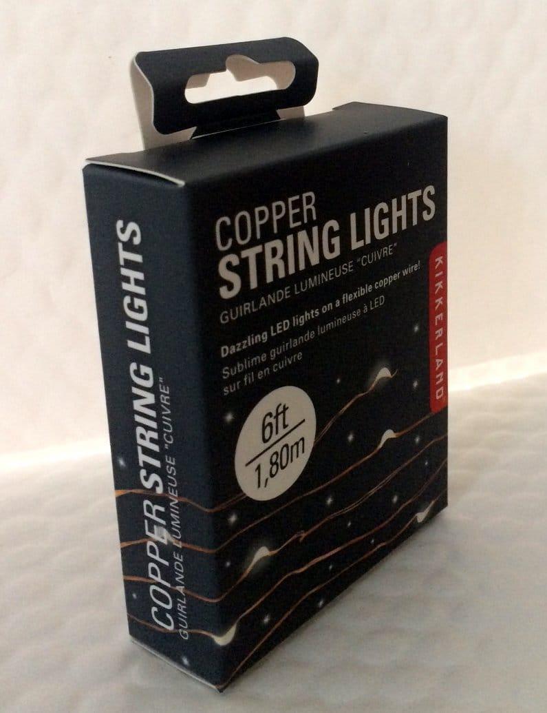 Kikkerland Copper String Lights - Northwest Nature Shop
