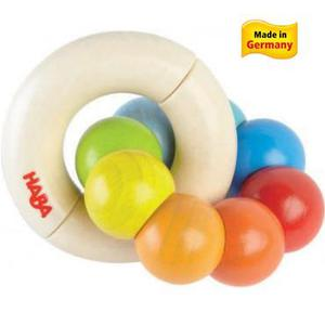 Haba Wooden Baby Toy Color Wheel Clutching Toy