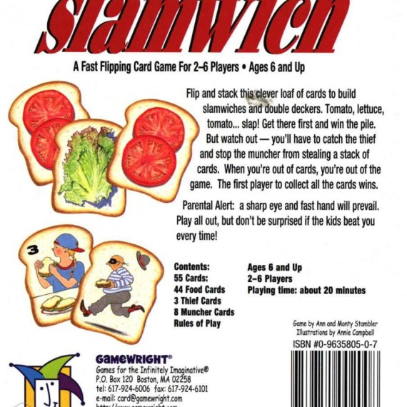 slamwich game how to play