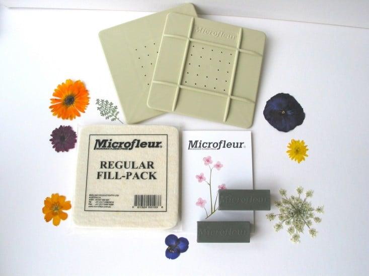 Microfleur Flower Press Northwest Nature Shop
