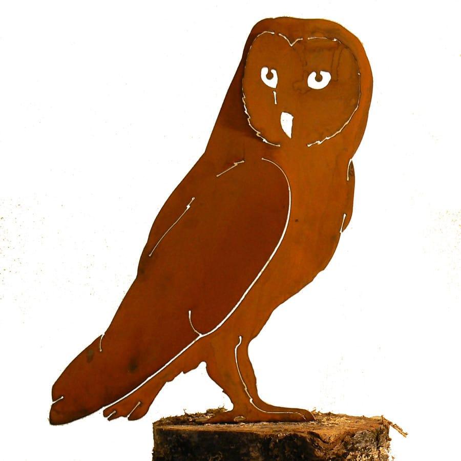 Elegant Garden Designs Barn Owl - Northwest Nature Shop