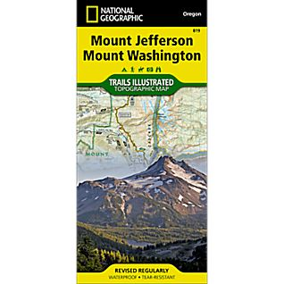 Mount Jefferson Wilderness And Recreation Map Northwest Nature Shop