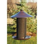 Woodlink Brushed Copper Nyjer Thistle Feeder
