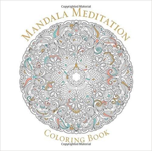 Mandala meditation coloring book northwest nature shop for Mandala meditation coloring pages
