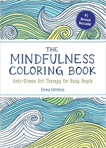 Mindfulness Coloring Book Anti Stress Art Therapy For Busy People