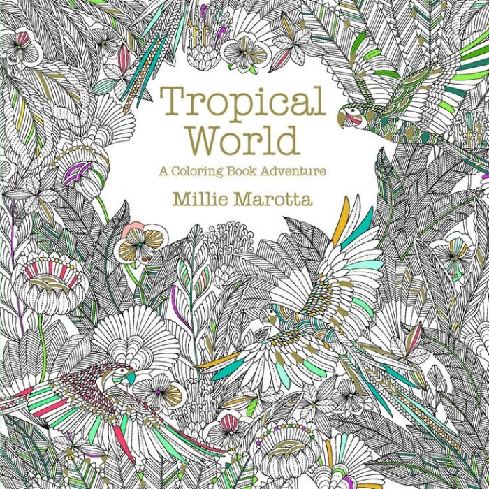 Tropical Wonderland A Coloring Book Adventure