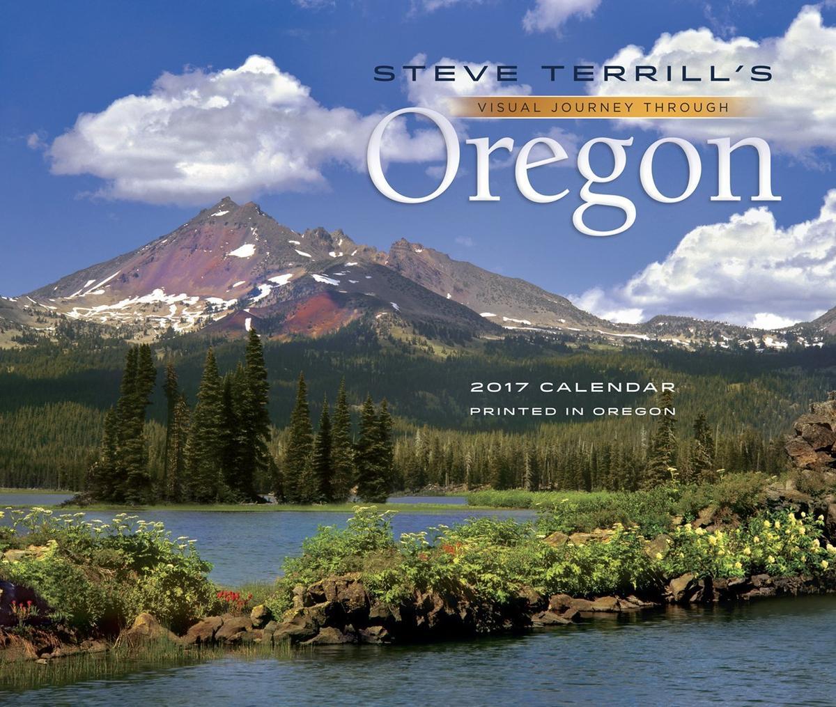 visual journey through Oregon calendar