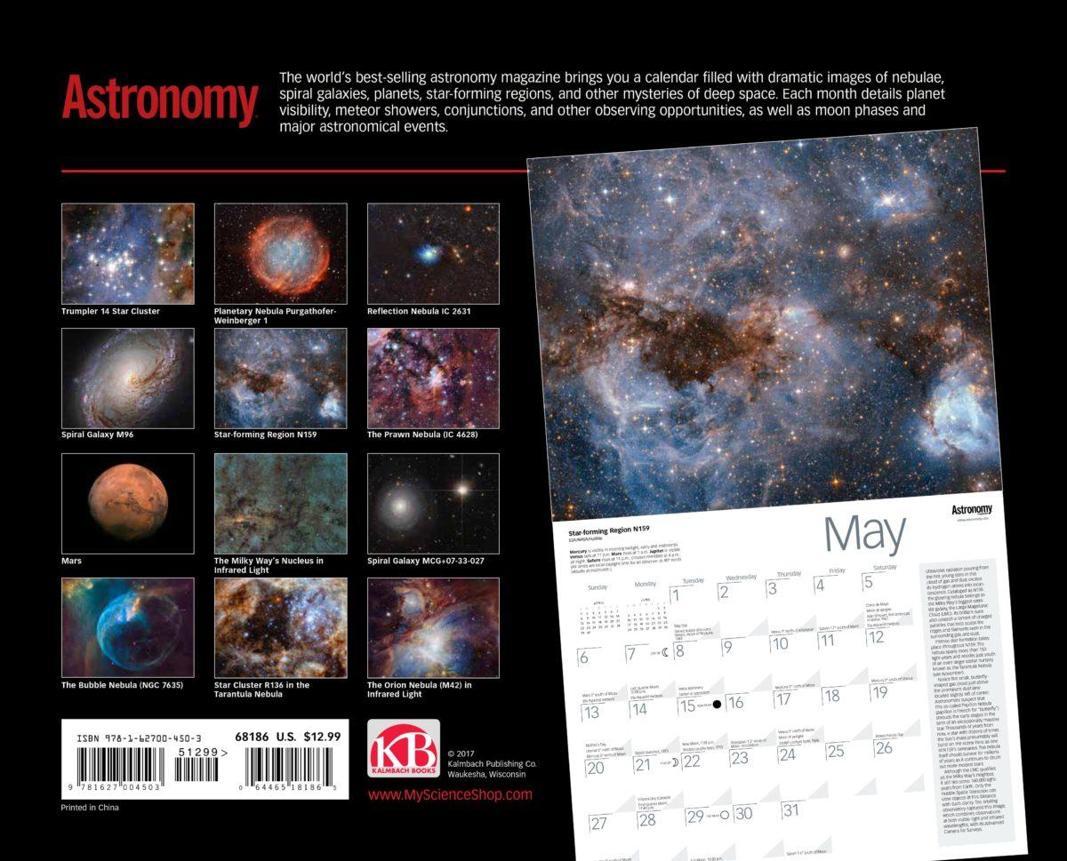 astronomy magazine calendar - HD1200×969