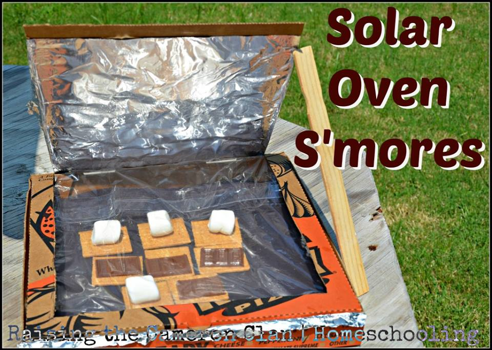 Make solar s 39 mores with a solar oven northwest nature shop for How to build a solar oven for kids