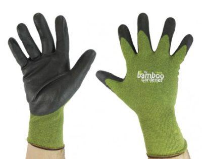 bamboo gardener nitrile gloves