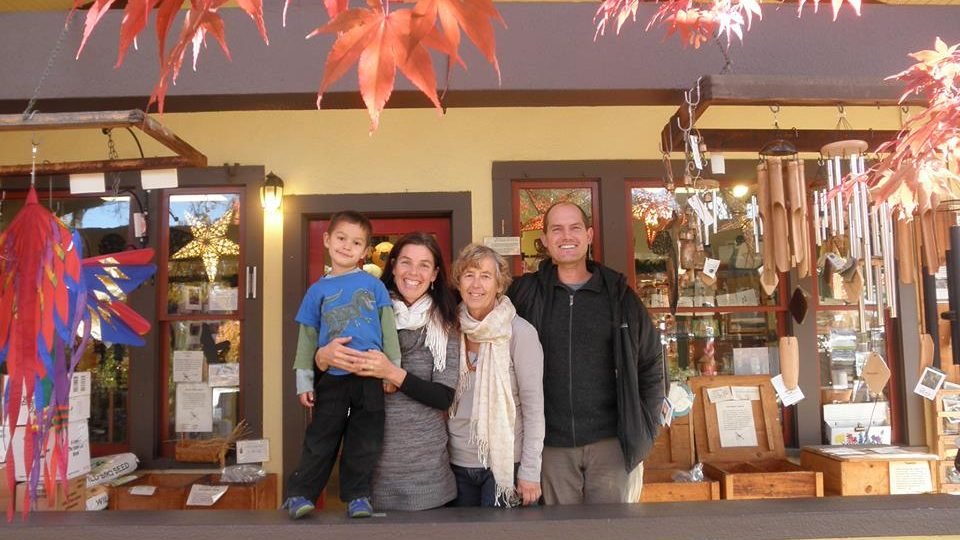 northwest nature Shop family shot
